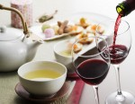 tea and wine