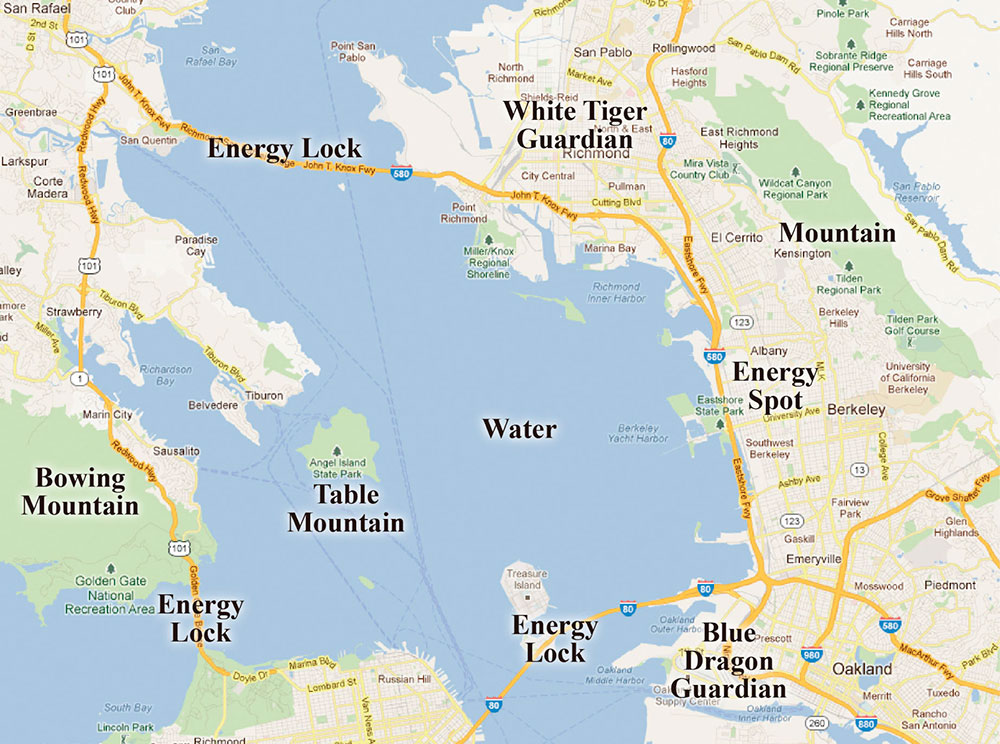 University of California Berkeley Campus map